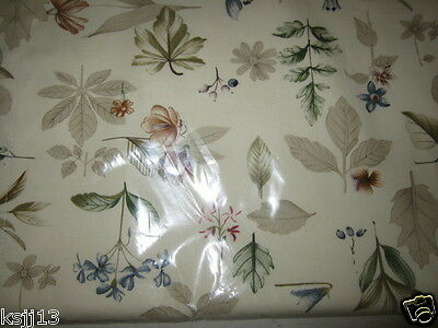 Longaberger Botanical Fields Curtain Straight Valance NEW