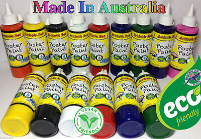 Kids Paint School Paints 250ml Washable & Non-toxic  Water based Poster Paints