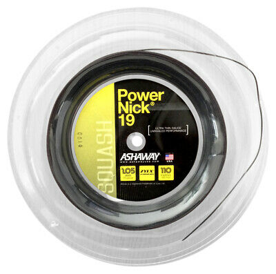 Ashaway Power Nick 1.05mm 19 Squash Strings 110M Reel