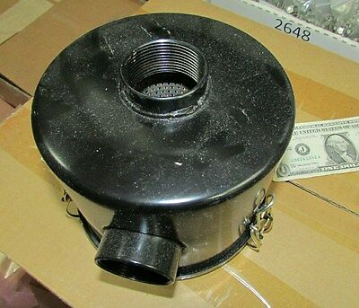 "Air Cleaner Assembly, Filter 1-1/2"" NPT In/Out Air Compressor, Stationary Engine"