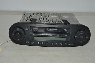2002 2003 2004 VOLKSWAGEN BEETLE AM/FM RADIO cassette PLAYER TESTED E6#002