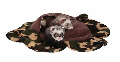 Marshall Ferret Cage Plush Krackle Sack Bed Toy - Camo Design