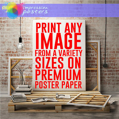 New Custom Poster Design Create Your Own Premium Wall Artwork Decor Print Sizes