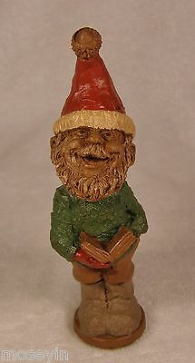 Tom Clark Gnome '87~#1165 CAROL L-R~Lo Ed 6~Sings Base~Collect All 5~Collectible