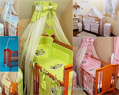 STUNNING /BABY/COT/COT BED/COTBED BIG CANOPY DRAPE/300cm Wide+HOLDER/ROD/CLAMP
