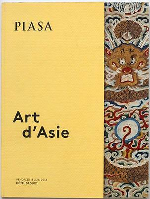 Asian Art PIASA, Drouot 2014 auction catalogue