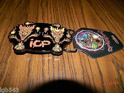 """New- OFFICIALLY LICENSED ICP """"The Amazing Jeckel Brothers"""" Metal Belt Buckle"""