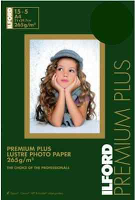 Ilford Photo Paper Lustre Pearl A4 Pack of 20 265g Premium Plus
