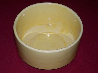 """VINTAGE """"BRUSH/USA"""" POTTERY - """"DOG DISH OR PLANTER"""" - CLEAN"""