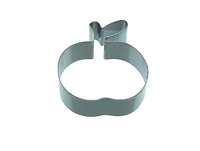 Kitchencraft Apple/Fruit/Peach Shape Metal Biscuit/Cookie Cutter. Home Baking.