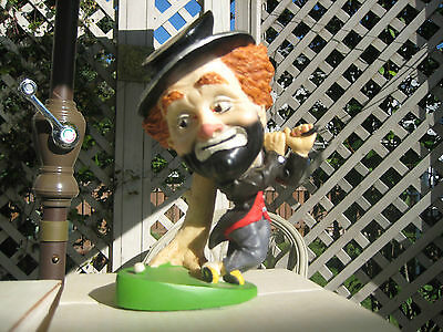 """Red Skelton """"FREDDIE ON THE GREEN"""" By Hal Reed L/E Figurine Statue W/ Orig Box"""
