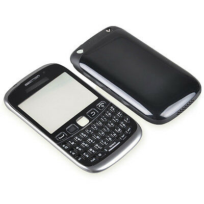 Black Full Replacement Housing Cover Case Keyboard for Blackberry 9320