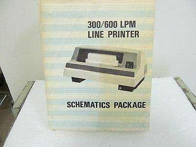 Dataproducts B300/B600  'B' Series Line Printer Schematics Package