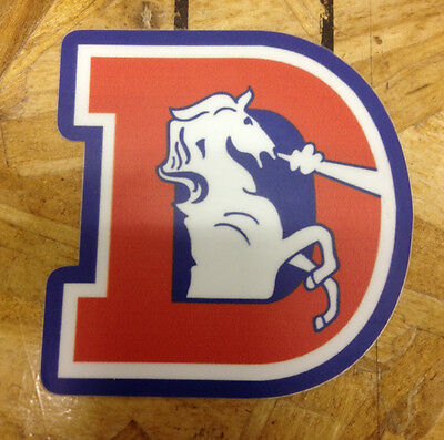 Denver Broncos Old School sticker