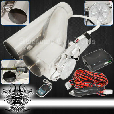 """For Lexus 3"""" 75Mm Remote Electric Exhaust Catback Downpipe Cutout E-Cut System"""