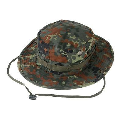 8fa8d0bde00 Camouflage Military Boonie Hat Tactical Ripstop Combat Caps Wide Brim Bucket  Hat