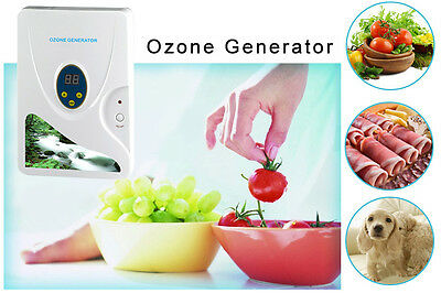 220V Ozone Generator Ozonator Food Water Air Oil Purifier Removing Smells