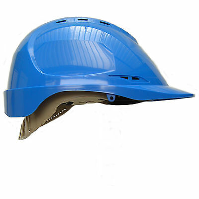 Aero Safety Helmet Work Wear Hard Hat Defender Cap,  Black, Yellow, White, Blue