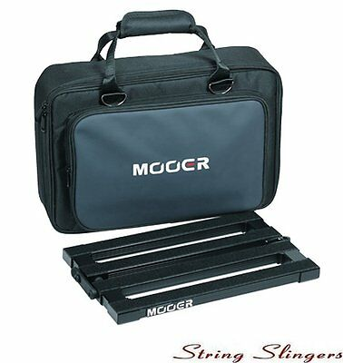 Mooer PB10 Stomplate Maxi Folding Pedal Board and Soft Carry Bag