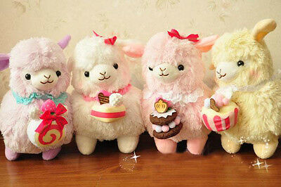 18'Lovely Soft Stuffed Plush Doll Alpaca Arpakasso Alpacasso Amusing Creamy Cake