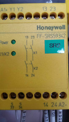 Honeywell Ff-Srs59342 Emergency Stop Safety Relay 24V-Dc ( (In12S3B1)