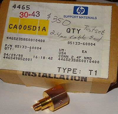 HP 85133-60004 2.4mm Cable End Test Set Side NEW