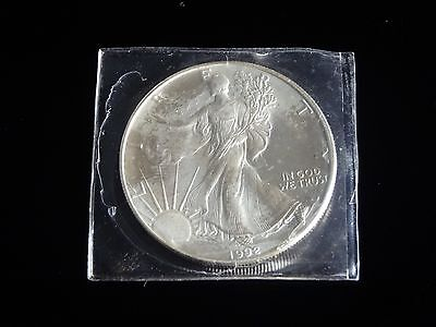 1992 Walking Liberty American Eagle1 oz 999 Fine Silver