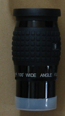 "NEW Zhumell 9mm 100 degree 1.25""/2"" telescope eyepiece"