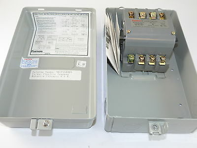 Furnas 40CP35BAD4 Resistive Heating Contactor and Enclosure New Surplus