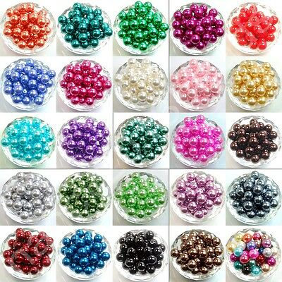 Top Quality Czech Glass Pearl Round Spacer Beads 3mm 4mm 6mm 8mm 10mm 12mm