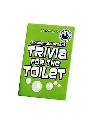Trivia for the Toilet (A Book for the Bog) Paperback Book The Cheap Fast Free