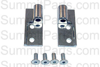 Top & Bottom Hinge Blocks For Wascomat Td Dryers - 339002