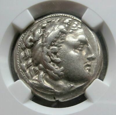 336 - 323 Bc Silver Macedon Tetradrachm Ngc Choice Very Fine Alexander Iii 5/5