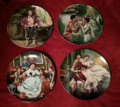 KING AND I plates