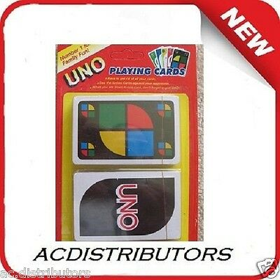 New UNO Playing Cards Family Fun Card Games