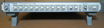 Rohde and Schwarz SGPF TV Television PAL Generator 2016.4049.03