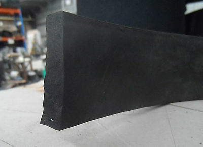 Weather Strip EPDM Sponge  Rubber , 50mm x 10mm section, by the meter