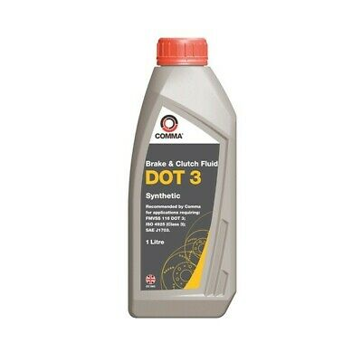COMMA DOT 3 Synthetic Brake & Clutch Fluid - 1 Litre - BF1L