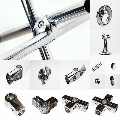 25mm Chrome Tube Pipe Clothes Garment Curtain Hanging Wardrobe Rail Dry Cleaners