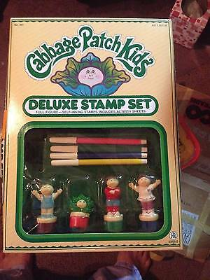 VINTAGE 1984 BY O.A.A. CABBAGE PATCH KIDS DELUXE STAMP SET    NIB