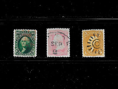 Reproductions of 62b, 64, 67 Rare US Stamps *Fakes 004