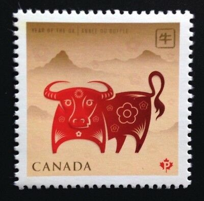 Canada #2296 MNH, Lunar New Year of the Ox Stamp 2009