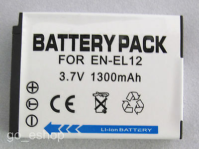 Battery for Nikon Coolpix S800c S8000 S8100 S8200 S9100 S9200 Digital Camera