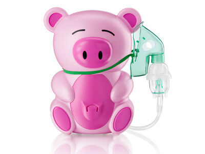 Piggie Nebulizer Inhaler Inhalator for Children Kids Certified Medical Device