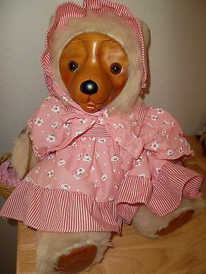 Robert Raikes Sara Ann Bear From the 1987 Collection Limited Edition Plush