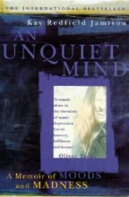 An Unquiet Mind by Jamison, Kay Redfield Paperback Book The Cheap Fast Free Post