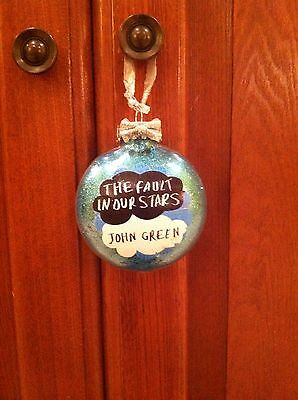 The Fault In Our Stars Ornament JOHN GREEN HAZEL GRACE AUGUSTUS WATERS TFIOS