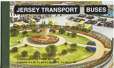 Jersey 1998 Buses Booklet Face Value £8.72 Unmounted Mint, Mnh