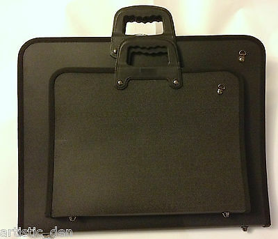 Artist Carry Case Portfolio Case Artist Bag Storage Case + Shoulder Strap