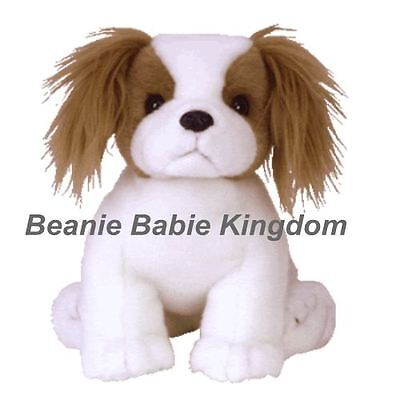 "Ty  Beanie Buddy * REGAL * The King Charles Spaniel Dog Buddie 12""  09433"